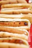 Hotdogs Royalty-vrije Stock Afbeeldingen