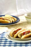 Hotdogs and Buns Royalty Free Stock Image