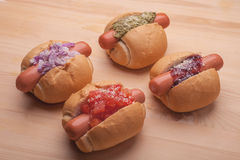 Hotdogs Stock Images