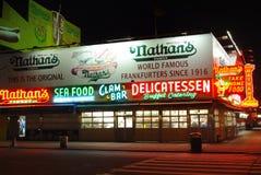 hotdogs nathan s Obraz Royalty Free