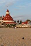 Hotel台尔科罗纳多,加利福尼亚 库存图片
