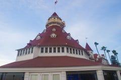 Hotel台尔科罗纳多 免版税图库摄影