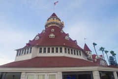 Hotel台尔科罗纳多 库存照片