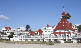 Hotel台尔科罗纳多 免版税库存图片
