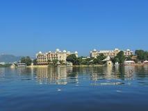 Hotel湖宫殿 库存照片