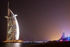 Hotel árabe del al de Burj - Dubai Imagen de archivo libre de regalías