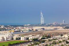 Hotel árabe del al de Burj en Dubai Imagenes de archivo