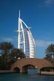 Hotel árabe del al de Burj en Dubai Imagen de archivo
