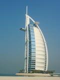 Hotel árabe del al de Burj en Dubai Foto de archivo