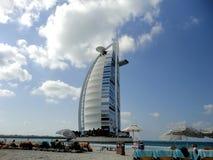 Hotel árabe do al de Burj em Dubai imagens de stock