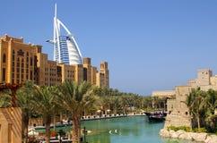 Hotel árabe Dubai del Al de Burj Imágenes de archivo libres de regalías