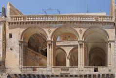 Hotel árabe histórico del estilo Fotografía de archivo