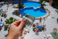 Hotel in Ägypten Lizenzfreie Stockfotografie