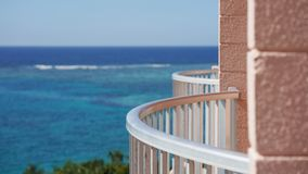 hotel& x27; балкон s стоковое фото