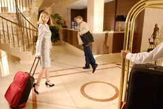 Hotel Royalty Free Stock Photography