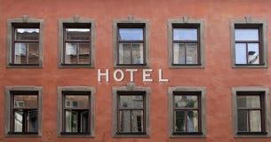 hotel Obraz Stock