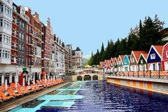 hotel Στοκ Εικόνες