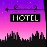 Hotel stock illustratie