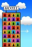 Hotel ilustracja wektor