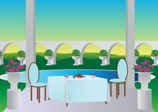 Hotel. Lizenzfreies Stockfoto