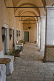 Hotel. In greece,originally build in 1807as a school for muslim turks, modified in 2002 Royalty Free Stock Image