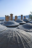 Hotel. In greece,originally build in 1807as a school for muslim turks, modified in 2002 Royalty Free Stock Photos