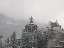 Hotel 7 del Banff Fotografie Stock