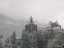 Hotel 7 van Banff Stock Foto's