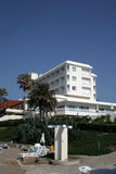 Hotel. By the sea Royalty Free Stock Images