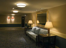 Hotel. The interior five-star hotel Royalty Free Stock Photography