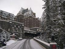 Hotel 9 del Banff Fotografia Stock Libera da Diritti
