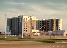 Hotel in aanbouw Royalty-vrije Stock Afbeelding