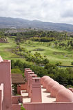 Hotel Abama Tenerife di terreno da golf Immagine Stock