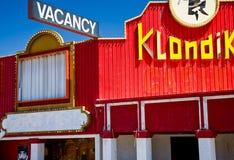 Hotel abandonado Imagem de Stock
