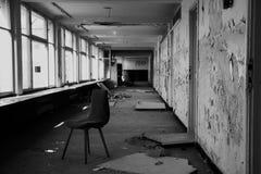 Hotel abandonado Imágenes de archivo libres de regalías