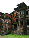 Hotel abandonado. Colina de Bokor. Kampot. Camboya. Foto de archivo libre de regalías