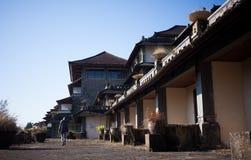Hotel abandonado em Bali imagens de stock royalty free