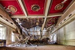 Hotel abandonado en el Harz Foto de archivo