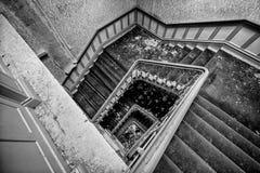 Hotel abandonado en el Harz Imagenes de archivo