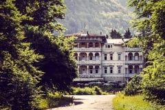 Hotel abandonado en el Harz Fotos de archivo