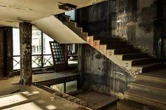 Hotel abandonado y arruinado Fotografía de archivo