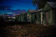 Hotel abbandonato Immagini Stock