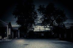 Hotel abbandonato Fotografia Stock
