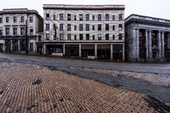 Hotel abbandonato - Brownsville, Pensilvania Fotografia Stock Libera da Diritti