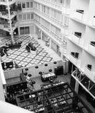 Hotel acima da elevação foto de stock royalty free