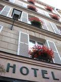 Hotel acogedor viejo fotografía de archivo