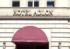 Hotel Adlon Lizenzfreies Stockbild