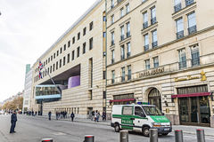 Hotel Adlon in Berlin Stockbilder