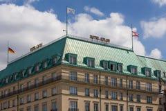 Hotel Adlon in Berlin Stockbild