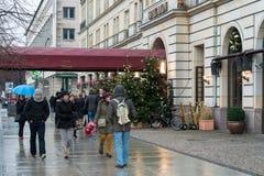 Hotel Adlon Kempinski Royalty Free Stock Photo